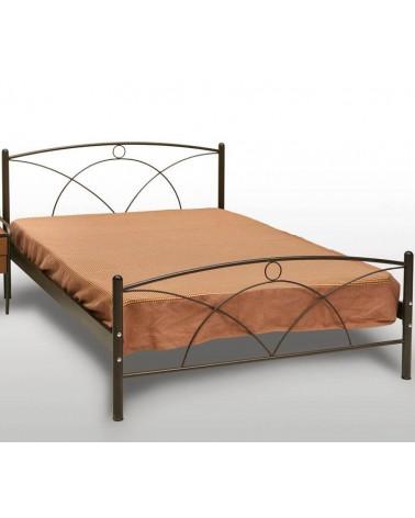 Νάξος Κρεβάτι διπλό Μεταλλικό 160X200
