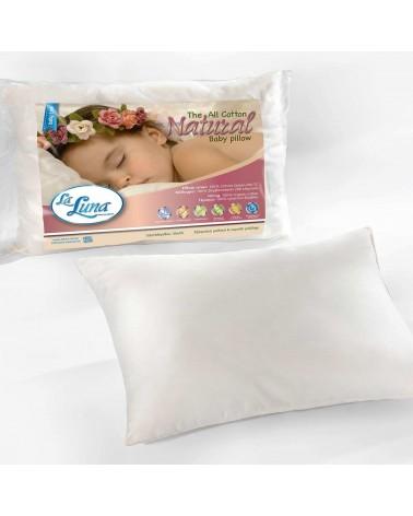 Βρεφικό Μαξιλάρι(35Χ45) Βαμβακερό La Luna Baby All Cotton