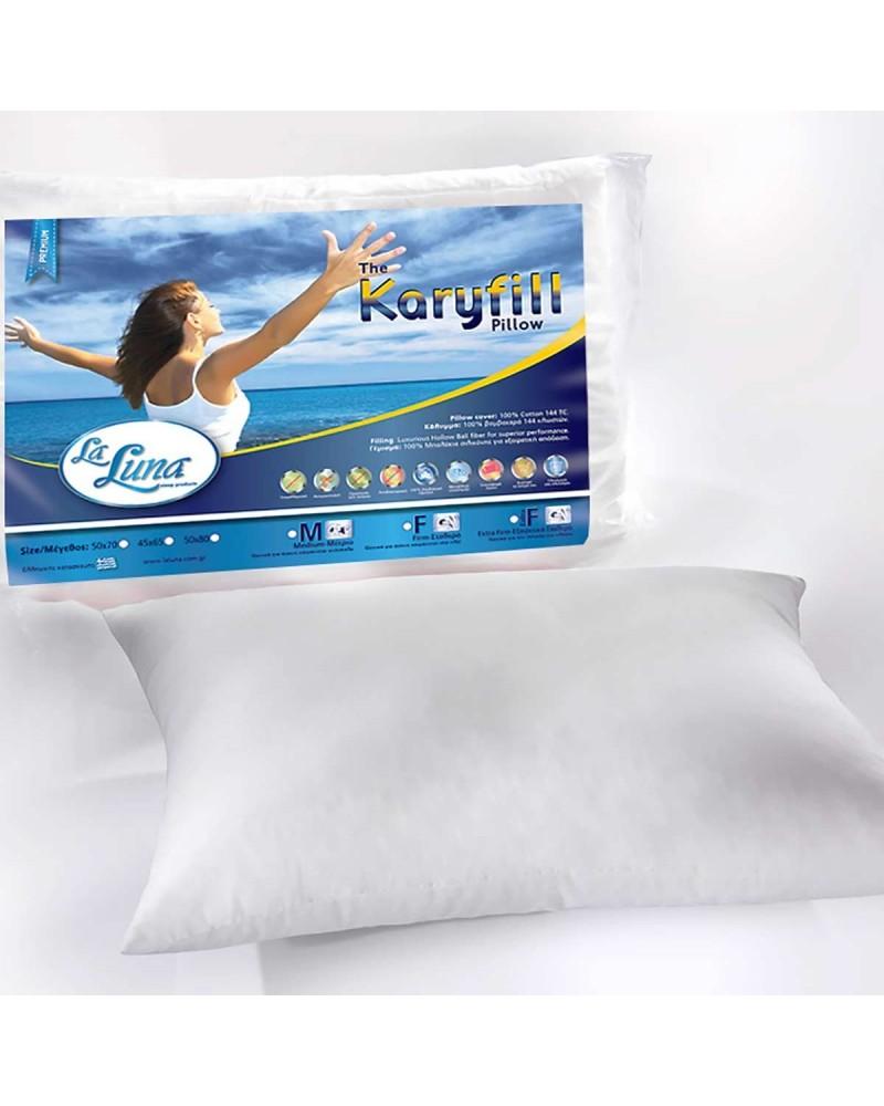 Μαξιλάρι Ύπνου (45x65) La Luna Karyfill Medium