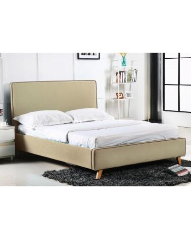 Morisson Κρεβάτι Διπλό Ύφασμα 160x200 Ε8078,2