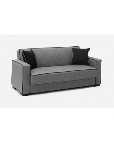 Καναπές κρεβάτι τριθέσιος με αποθηκευτικό χώρο 220x82εκ. GLORIA Γκρι