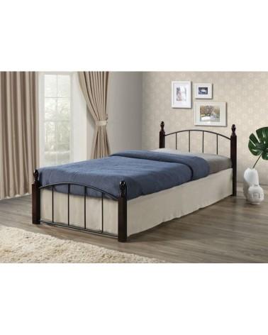 Aragon Κρεβάτι Μεταλλικό για στρώμα 90x190 Ε8096