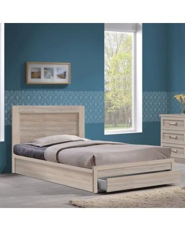 Κρεβάτι Life  με αποθηκευτικό χώρο Sonoma για στρώμα90x190