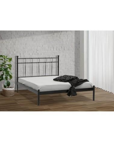 Λύδα Μεταλλικό κρεβάτι για στρώμα 90x190
