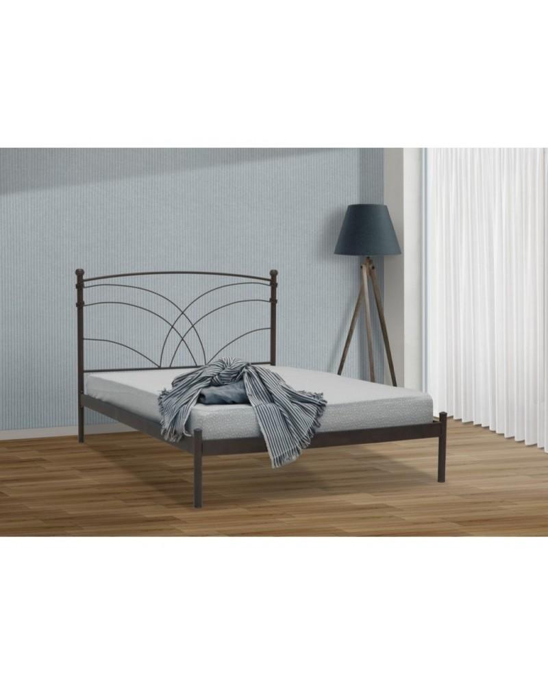 Ιωνάς Μεταλλικό κρεβάτι για στρώμα 160x200