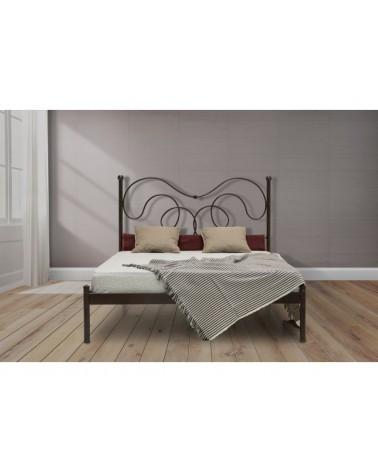 Άγης Μεταλλικό κρεβάτι για στρώμα 140x190