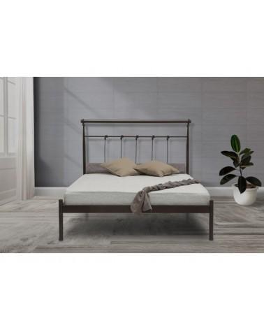 Έκτωρ Μεταλλικό κρεβάτι για στρώμα 90x200