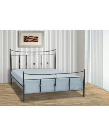 Κρόνος Μεταλλικό κρεβάτι για στρώμα 90x200