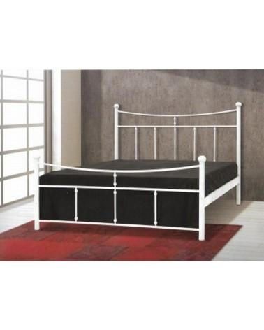 Κίμων Μεταλλικό κρεβάτι για στρώμα 110x200