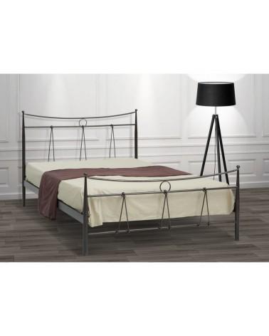 Δίας Μεταλλικό κρεβάτι για στρώμα 90x200