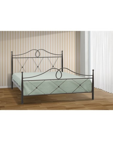 Αθηνά Μεταλλικό κρεβάτι για στρώμα 110x190