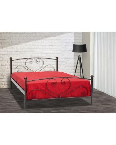 Κάλυμνος Μεταλλικό κρεβάτι για στρώμα 90x200