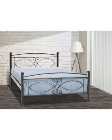 Τζια Μεταλλικό κρεβάτι για στρώμα 90x200