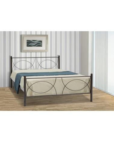 Κούπα Μεταλλικό κρεβάτι για στρώμα 90x200